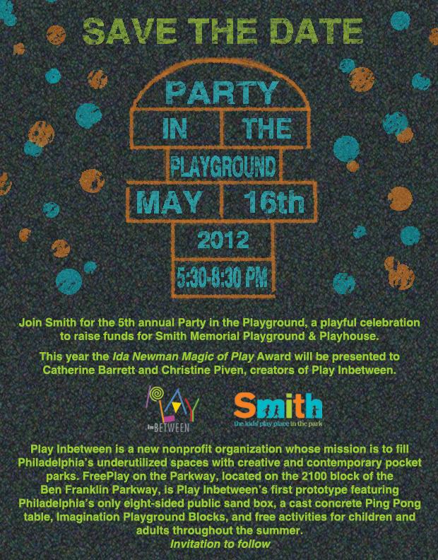 smith memorial playground playhouse pip12 save the date