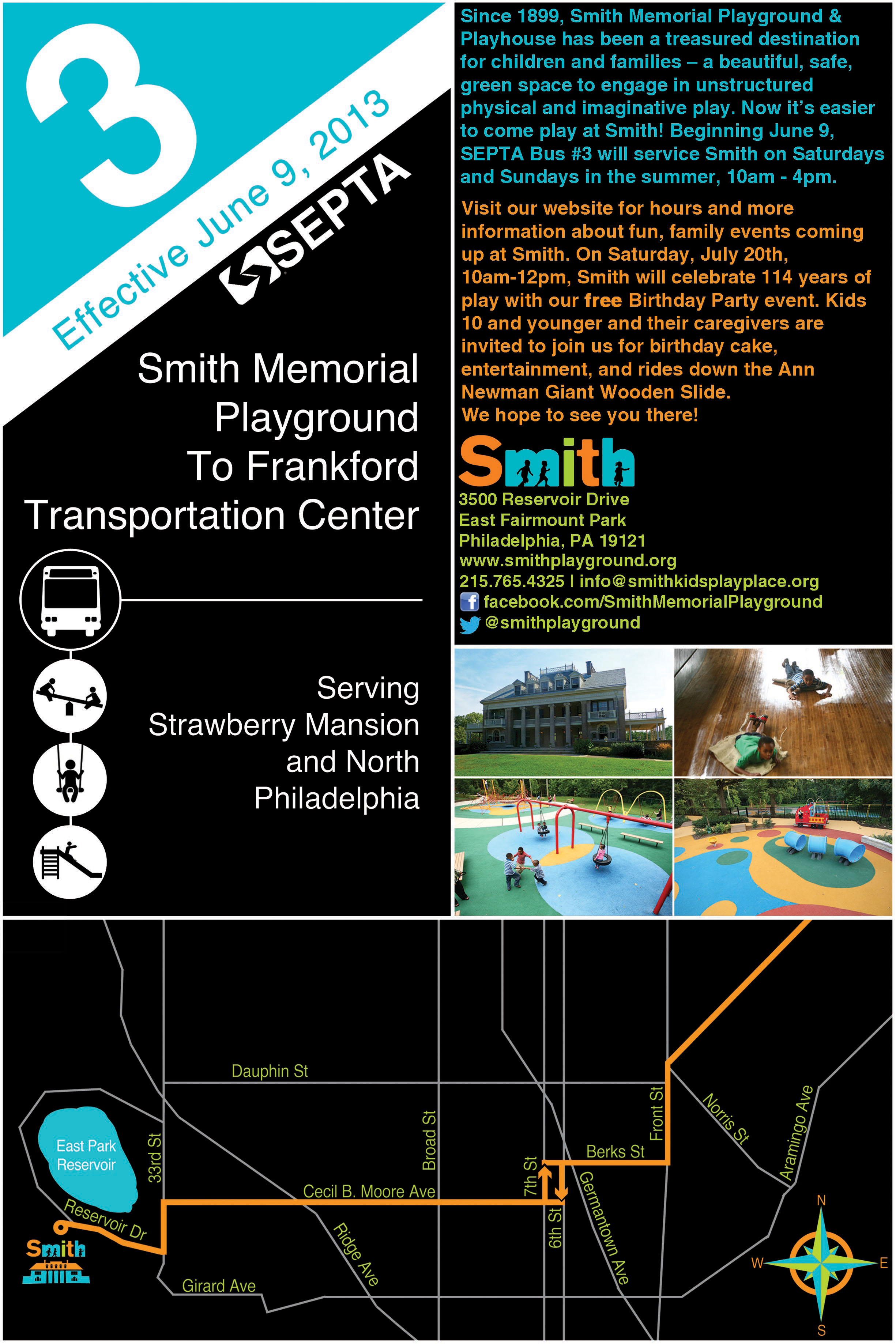 Smith Memorial Playground Amp Playhouse Directions To Smith