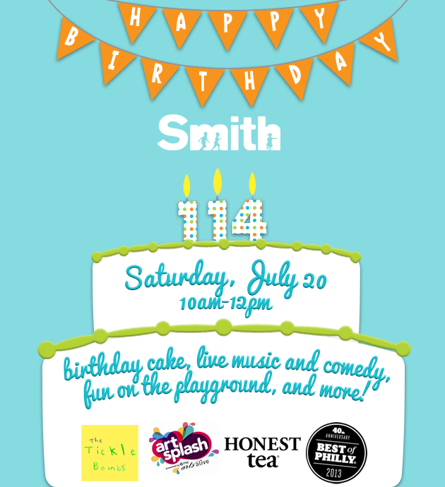 Smith 114th bday logos